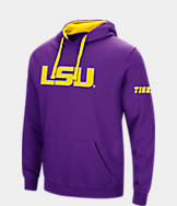 Men's Stadium LSU Tigers College Big Logo Hoodie