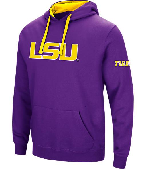 Men's Stadium LSU Tigers College Big Logo Hoodie