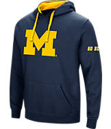 Men's Stadium Michigan Wolverines College Big Logo Hoodie