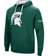Men's Stadium Michigan State Spartans College Big Logo Hoodie
