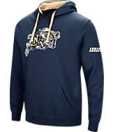 Men's Stadium Navy Midshipmen College Big Logo Hoodie