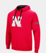 Men's Stadium Nebraska Cornhuskers College Big Logo Hoodie