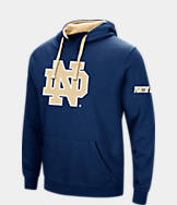 Men's Stadium Notre Dame Fighting Irish College Big Logo Hoodie