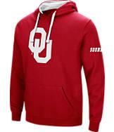 Men's Stadium Oklahoma Sooners College Big Logo Hoodie
