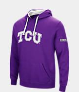 Men's Stadium TCU Horned Frogs College Big Logo Hoodie