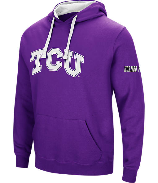 Men's Stadium TCU Horned Frogs College Big Logo Hoodie