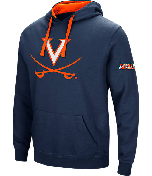 Men's Stadium Virginia Cavaliers College Big Logo Hoodie