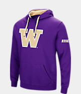 Men's Stadium Washington Huskies College Big Logo Hoodie