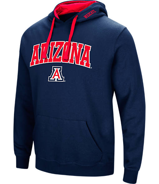 Men's Stadium Arizona Wildcats College Arch Hoodie