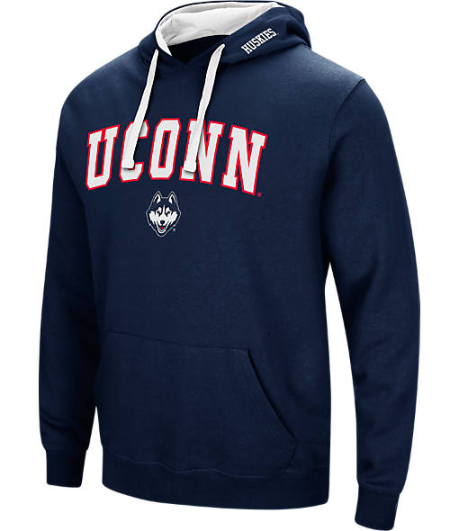 Men's Stadium UCONN Huskies College Arch Hoodie