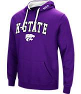 Men's Stadium Kansas State Wildcats College Arch Hoodie