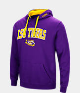 Men's Stadium LSU Tigers College Arch Hoodie
