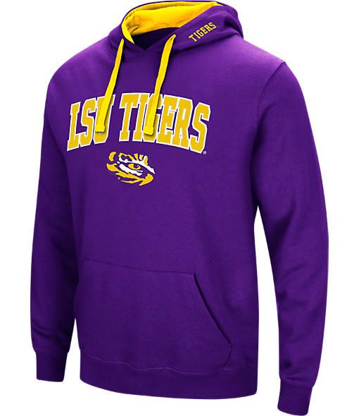 Men's Stadium LSU Tigers College Arch Hoodie