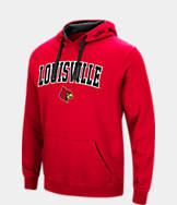 Men's Stadium Louisville Cardinals College Arch Hoodie