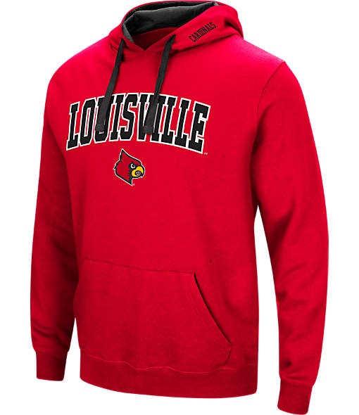 Men's Stadium Louisville Cardinals College Arch Hoodie