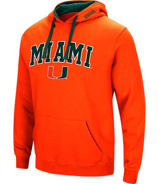 Men's Stadium Miami Hurricanes College Arch Hoodie