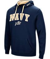 Men's Stadium Navy Midshipmen College Arch Hoodie