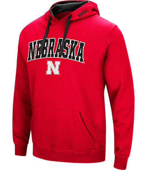 Men's Stadium Nebraska Cornhuskers College Arch Hoodie