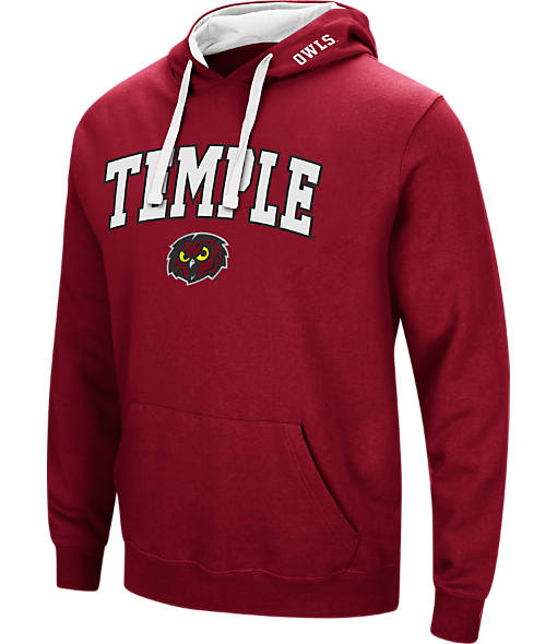Men's Stadium Temple Owls College Arch Hoodie