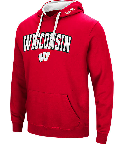 Men's Stadium Wisconsin Badgers College Arch Hoodie