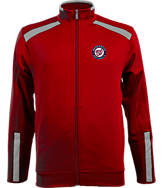 Men's Antigua Washington Nationals MLB Flight Track Jacket