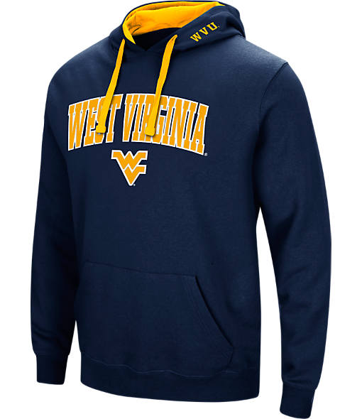 Men's Stadium West Virginia Mountaineers College Arch Hoodie