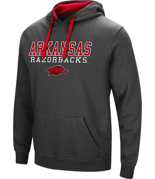 Men's Stadium Arkansas Razorbacks College Stack Hoodie