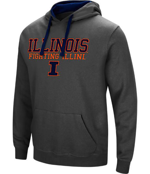 Men's Stadium Illinois Fighting Illini College Stack Hoodie
