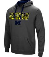 Men's Stadium Michigan Wolverines College Stack Hoodie