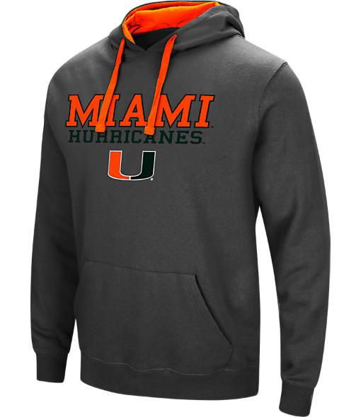 Men's Stadium Miami Hurricanes College Stack Hoodie