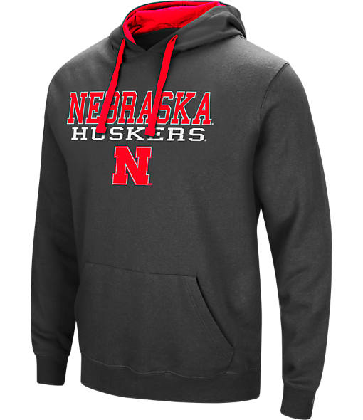 Men's Stadium Nebraska Cornhuskers College Stack Hoodie