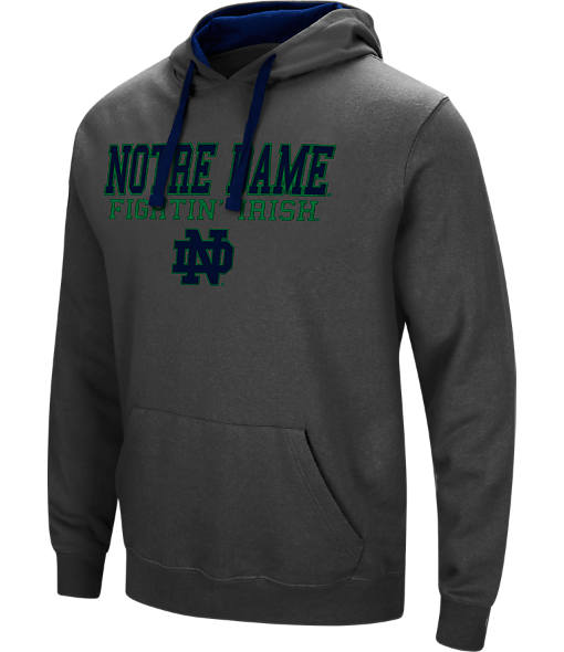 Men's Stadium Notre Dame Fighting Irish College Stack Hoodie