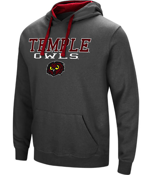 Men's Stadium Temple Owls College Stack Hoodie