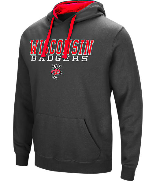 Men's Stadium Wisconsin Badgers College Stack Hoodie