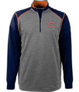 Men's Antigua Chicago Bears NFL Breakdown 1/4 Zip Shirt