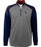 Men's Antigua Houston Texans NFL Breakdown 1/4 Zip Shirt