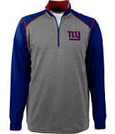Men's Antigua New York Giants NFL Breakdown 1/4 Zip Shirt
