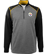 Men's Antigua Pittsburgh Steelers NFL Breakdown 1/4 Zip Shirt