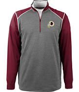Men's Antigua Washington Redskins NFL Breakdown 1/4 Zip Shirt