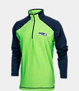 Men's Antigua Seattle Seahawks NFL Playmaker Quarter-Zip Jacket