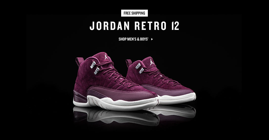 Jordan Retro 12. Shop Now.