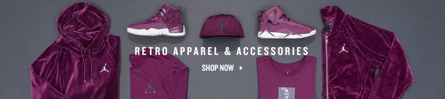 Shop Jordan Retro Apparel and Accessories.