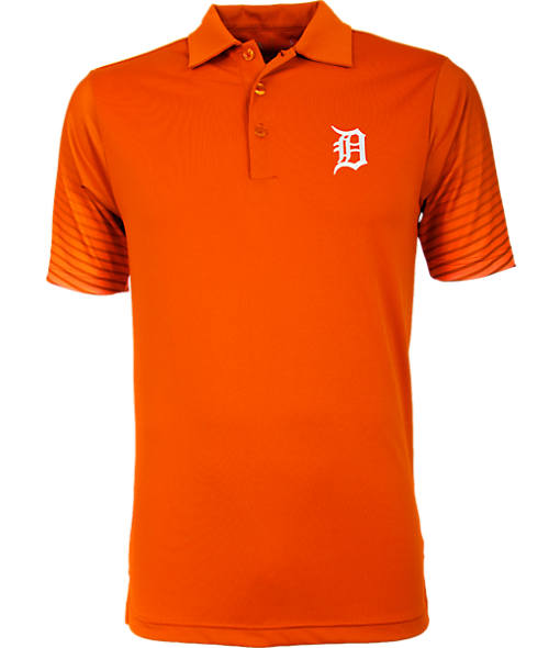 Men's Antigua Detroit Tigers MLB Series Polo Shirt