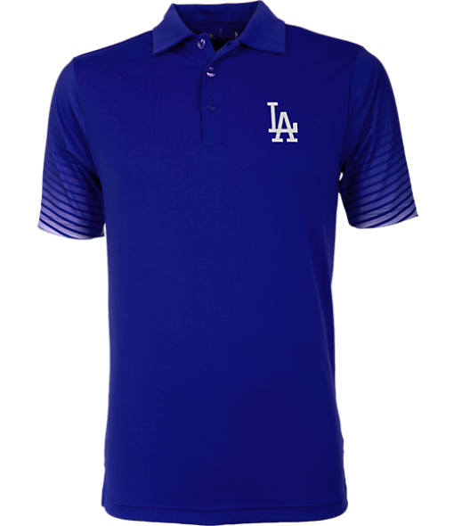 Men's Antigua Los Angeles Dodgers MLB Series Polo Shirt