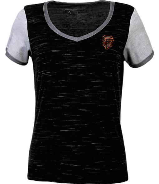 Women's Antigua San Francisco Giants MLB Rival V-Neck T-Shirt