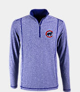 Men's Antigua Chicago Cubs MLB Tempo Quarter-Zip Jacket