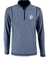 Men's Antigua Detroit Tigers MLB Tempo Quarter-Zip Jacket
