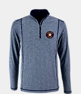 Men's Antigua Houston Astros MLB Tempo Quarter-Zip Jacket