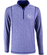 Men's Antigua Kansas City Royals MLB Tempo Quarter-Zip Jacket