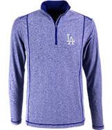 Men's Antigua Los Angeles Dodgers MLB Tempo Quarter-Zip Jacket